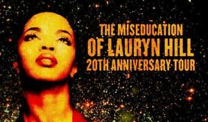Selling 2 Lauryn Hill tickets for Vancouver September 14