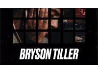 TICKETS   Bryson Tiller - Set It Off Tour MANCHESTER 1 Dec x 1