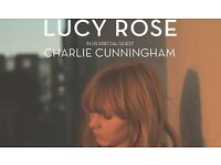 2ND ROW Lucy Rose Tickets X 3 London 3/11/17