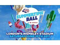 Capital SummerTime Ball Golden Circle Tickets x2