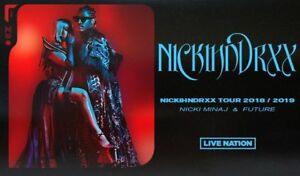 Nicki Minaj & Future **** Upper Bowl, Centers! **** Row 1 ****