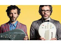 4x Flight Of The Conchords tickets - 27th March Leeds First Direct Arena (close to the stage)