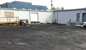 Warehouse or light industrial space for lease