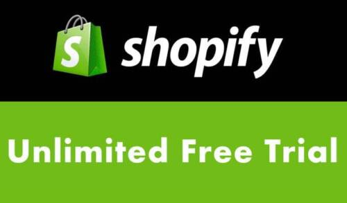 Free Shopify Account With Unlimited Trial Days + 50 premium themes ($1400 value)