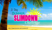 21 Day Summer Slimdown Challenge