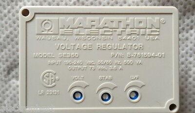 Marathon Automatic Voltage Regulator Avr Se350