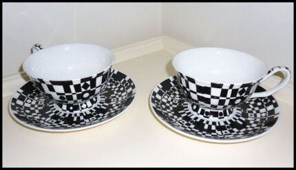 Teacup and saucer sets Bayswater Bayswater Area Preview