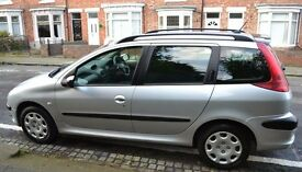 Peugeot 206 Estate - 1.4L - 2005 - Petrol - 11 Month MOT