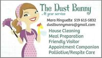 The Dust Bunny at Your Service