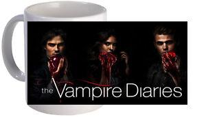 THE VAMPIRE DIARIES MUG. BRAND NEW.