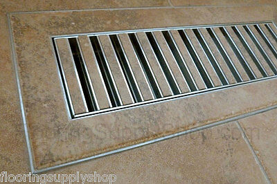 Chameleon Hard Surface Floor Vent Registers For Tile Hardwood &laminate Floors