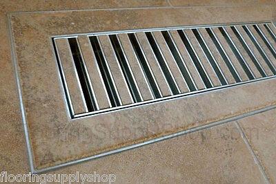 Chameleon Hard Surface Floor Vent Registers For Tile Hardwood &laminate Floors