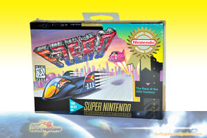 F-Zero Super Nintendo Game - Brand New SEALED SNES F0