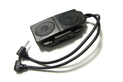 Element Double Remote Control For An/peq-16a & M3x Black