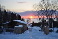 The Sleeping Moose Cottage, ocean view, access. Off season rates