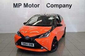 2014/64-TOYOTA AYGO 1.0 VVT-I ( 68BHP ) X-CITE 3DR NEWSHAPE SPECIAL ED HATCH