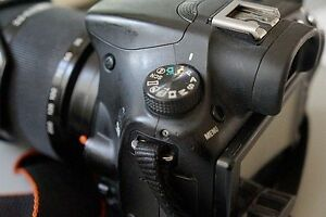 Sony SLT-A58 camera With 18-135mm lens
