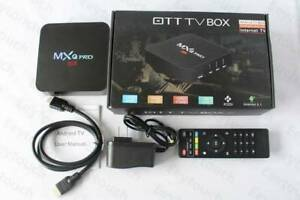 Android TV Box - MXQ Pro 4K - Android 1GB 8GB