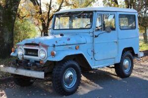 Wanted: Toyota Land Cruiser 40 series