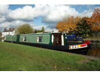 Share of narrowboat (x1 twelth)