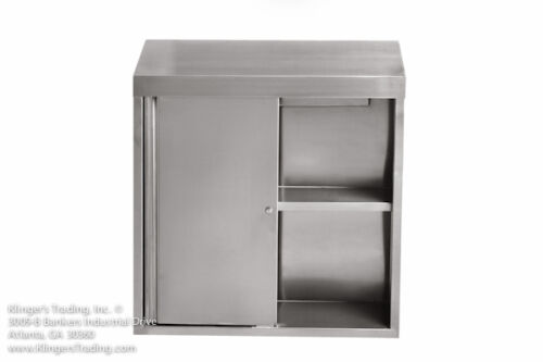 """15""""x60"""" Stainless Steel Wall Cabinet"""
