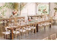 Catering, Decorations, Flowers, Invitation Cards, Centre pieces, Chair Covers, Table covers, Cutlery