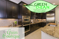 The Best Offer Of Green Cleaning Services In Oakville!
