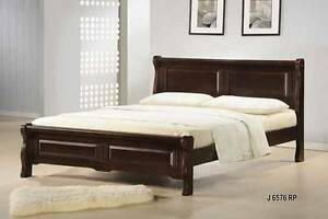 Double Alpine platform bed frame, solid hardwood, NEW in boxes