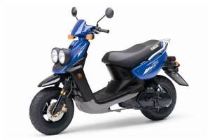 Blue Yamaha Scooter *BRAND NEW CONDITION*