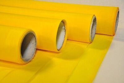 2 Yard - 380 Yellow X 60 Width Silk Screen Printing Mesh Fabric