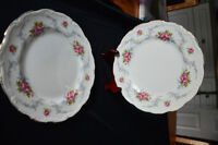"Royal Albert Chine 6"" plates"