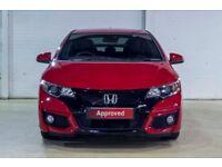 Honda CIVIC I-DTEC SPORT (red) 2016