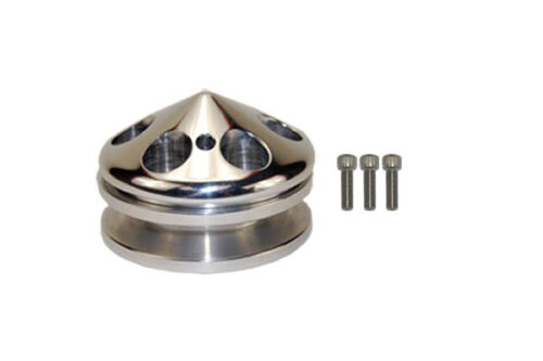 GM-Chevy-Ford-Alternator-Pulley-polished-Aluminum-billet-chevrolet-chrome-nose