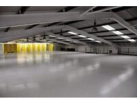 **Large, Industrial, warehouse, storage space**