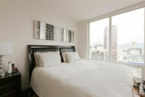 Fully Furnished Private Rooms in Downtown Vancouver Downtown