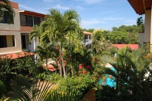 A one bedroon condo in beachtown of sosua, D.R. fr.$33. per nite