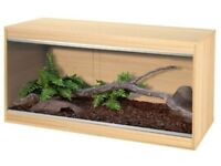 Wanted oak vivarium