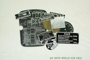 CJ750 - R71 tags full set R71/URAL/CJ