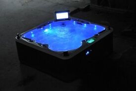 Hot Tub With Pop Up TV