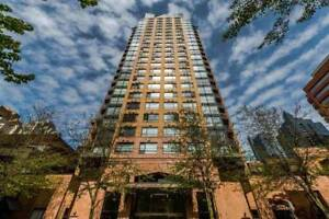$2150/month-1br+den+IN SUITE STORAGE AND W/D - 1189 Howe Street