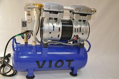Twin Piston Vacuum Pumpvacuum Tankpressure Control5.5 Cfm Automatic Workshop