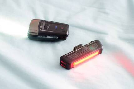 Moon Meteor 200 usb super bright bicycle light front + back +... Attadale Melville Area Preview