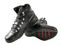 Reebok Trail Breaker Mens Boots Trainers black leather size 8.5 UK 42,5 EU NEW