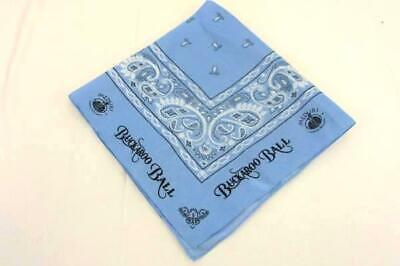 2004 Bandanna Buckaroo Ball Meduri World Delights Baby Blue RN 97467 - Baby Blue Bandana