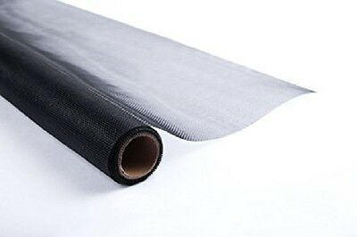 "Shatex Roll Fiberglass Screen, Fiberglass Door Window Screen, 60""x100ft, Black"