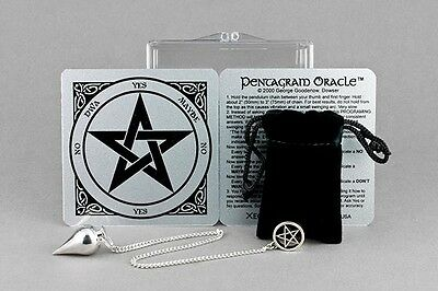 Pentagram Oracle Kit -  Pentagram Pendulum, Case, Instructions