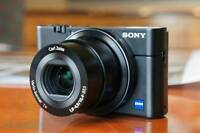 The perfect camera for beginners: Sony DSC RX100 + 32 GB card