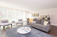 NUMEROUS AMENITIES! 1 & 2 BDRM apartments on Lakeshore Rd