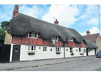 Pub Management / Chef couple to run a classic thatched village pub in Oxfordshire