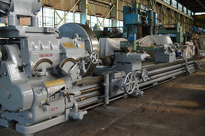 4850 X 300 25 American Super-productive 48 Engine Lathe - 27621